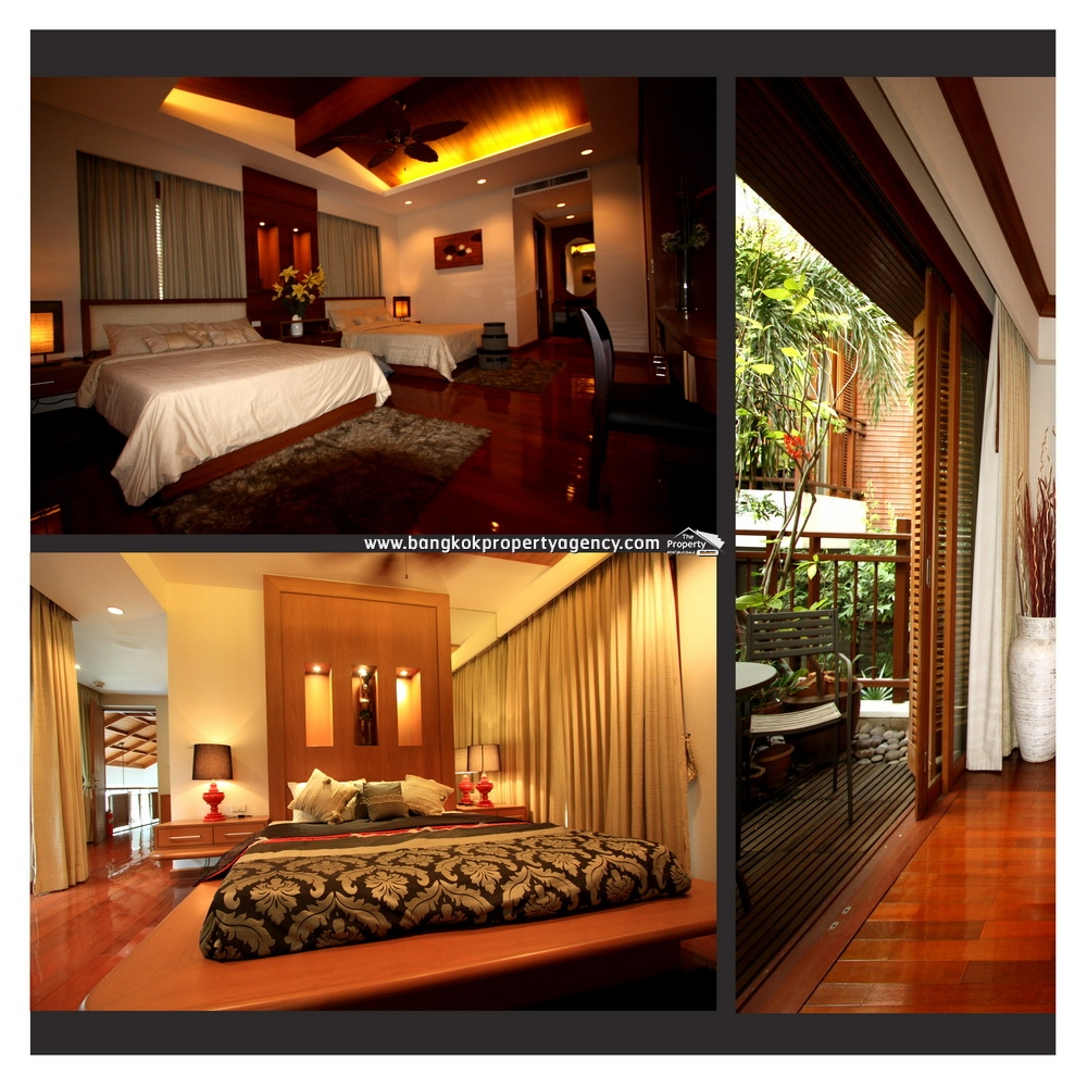 Resort / House in Central Bangkok Sukhumvit 24 with swimming pool