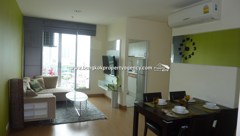 Life@Sukhumvit 65: 2 bed 67 sqm well decorated condo with bathtub