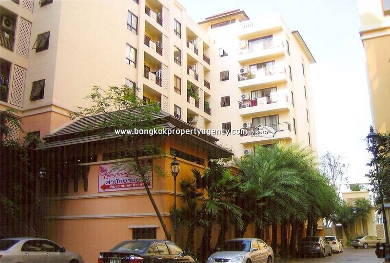 KlangKrung Resort Ratchada: 1 bed 59 sqm, good location near to MRT