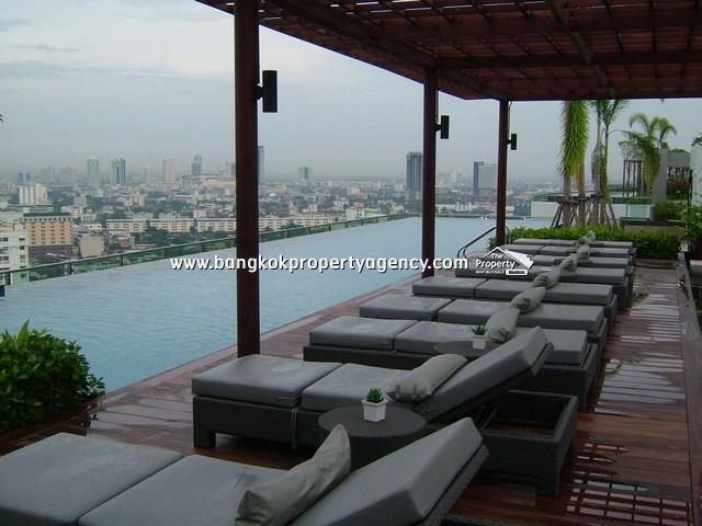 Ideo Mix Sukhumvit 103: 1 bed 35 sqm fully furnished corner room