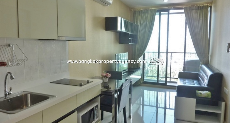 The President Sukhumvit 81: luxurious 1 bed condo, high floor