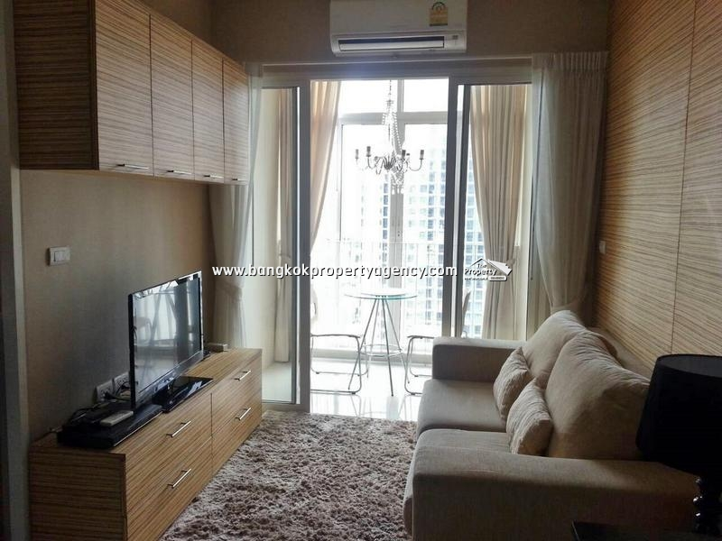 Ideo Verve Sukhumvit 81: 1 Bed well decorated next to BTS, unblocked view