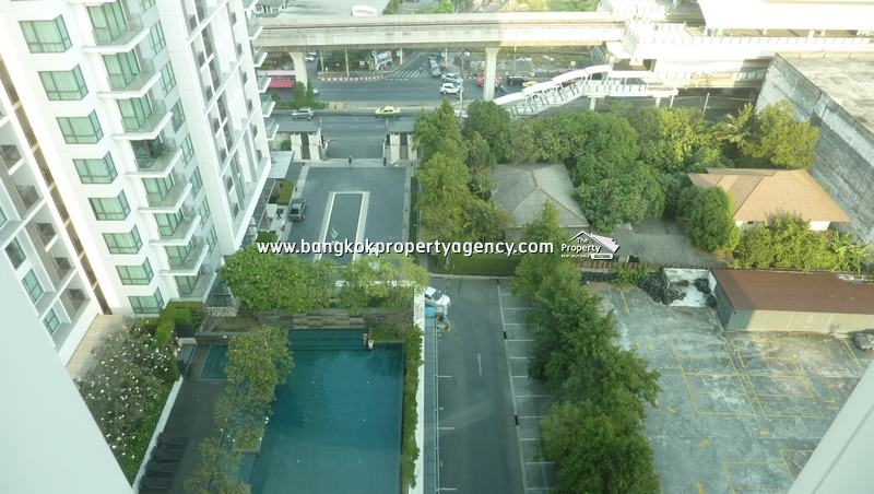 The Room Sukhumvit 62: 1 bed 45 sqm unit on high floor with pool view