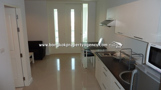 @City Condo Sukhumvit 101/1: 1 bed 35 sqm fully furnished/unblocked view