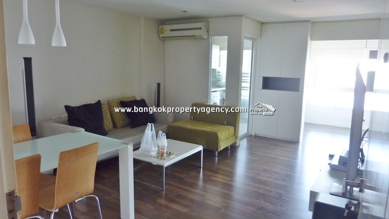 The Room Sukhumvit 79: 2 bed well decorated condo, unblocked view near BTS