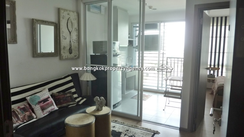 The Base Sukhumvit 77: 1 bed fully furnished unit, contract 6 months up