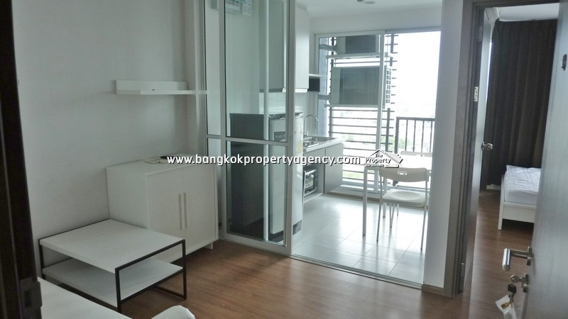 The Base Sukhumvit 77: 1 bed fully furnished unit, high floor/unblocked view