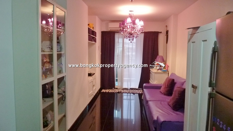 The Next Sukhumvit 52: 1 bed 51 sqm furnished corner room close to BTS