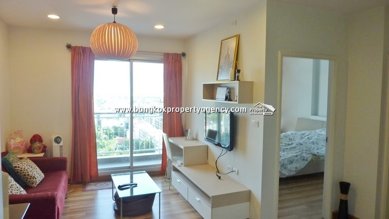 Centric Scene Sukhumvit 64: 1 bed 41 sqm fully furnished unit, high floor