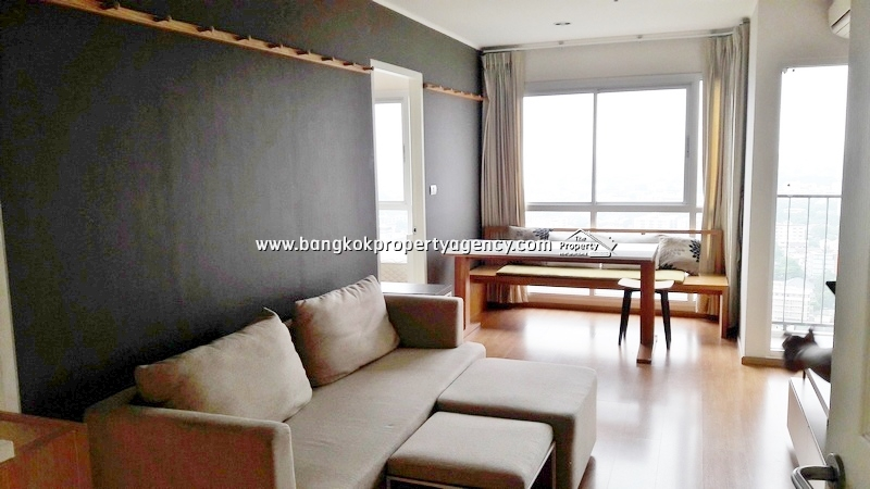 U Delight Sukhumvit 77: 2 bed 47 sqm well decorated corner unit on high floor