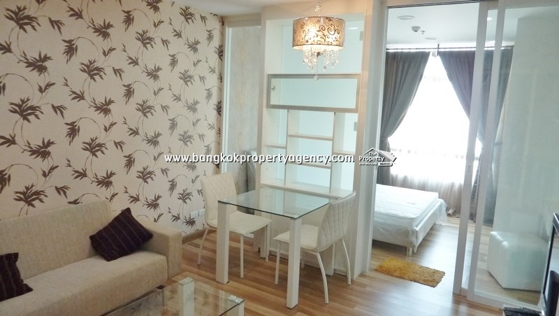 Centric Scene Sukhumvit 64: 1 bed 34 sqm fully furnished unit, high floor