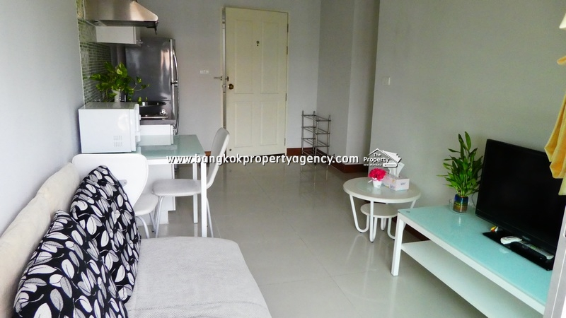 @City Condo Sukhumvit 101/1: 1 bed 35 sqm fully furnished/pool view