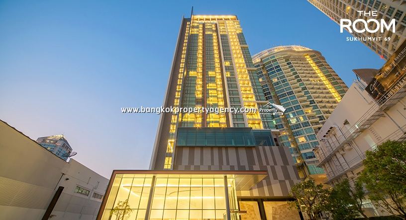 The Room Sukhumvit 69 : Brand new 1 bed 45 sqm well decorated condo