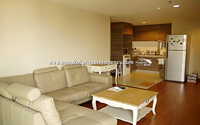 Belle Grand Rama 9: 2 bed 68 sqm fully furnished with unblocked view