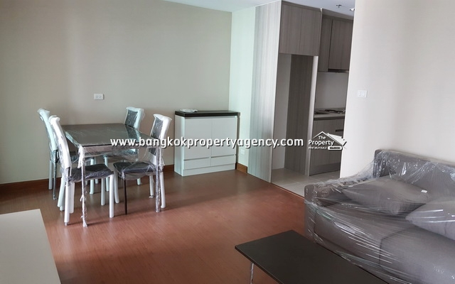 Belle Grand Rama 9: Brand new 1 bed 47 sqm partially furnished unit