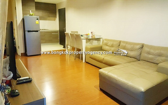 Belle Grand Rama 9: 2 bed 58 sqm fully furnished unit with city view