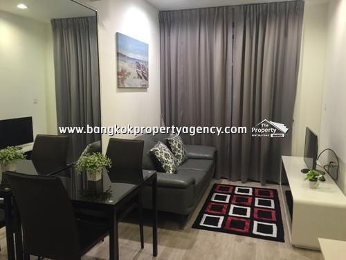 Ideo Mobi Sukhumvit 81: 1 bed 31 sqm fully furnished unit close to BTS