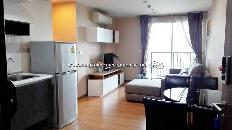 The Base Sukhumvit 77:  2 bed on high floor well decorated/corner unit