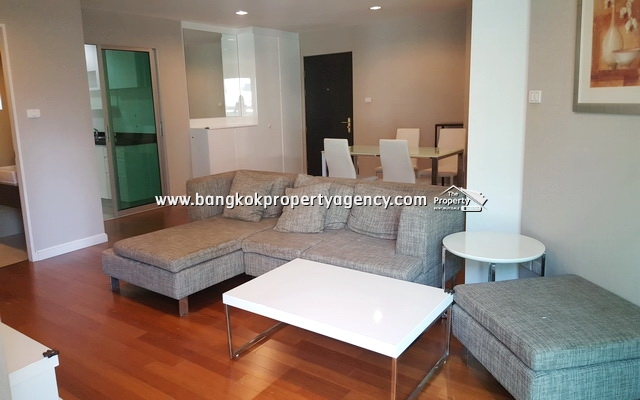 Belle Grand Rama 9: 3 bed 107 sqm fully furnished unit with pool view