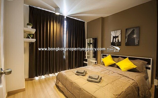 Chateau in Town Ratchada 10: 2 bed 48 sqm fully furnished unit