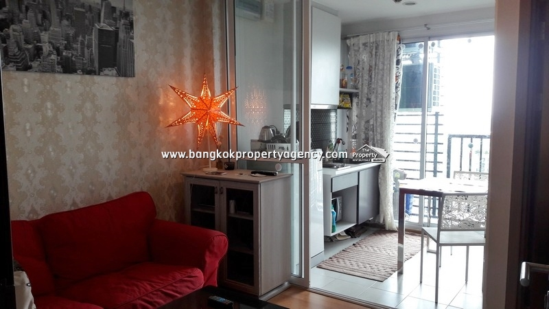 The Base Sukhumvit 77: 1 bed 30 sqm well decorated unit on very high floor