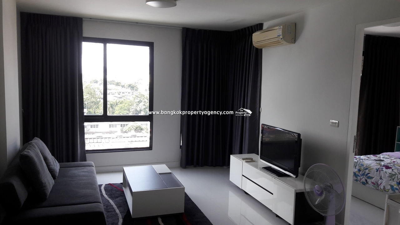 Sense Condo Sukhumvit 68: 1 bed 44 sqm well decorated/unblocked view