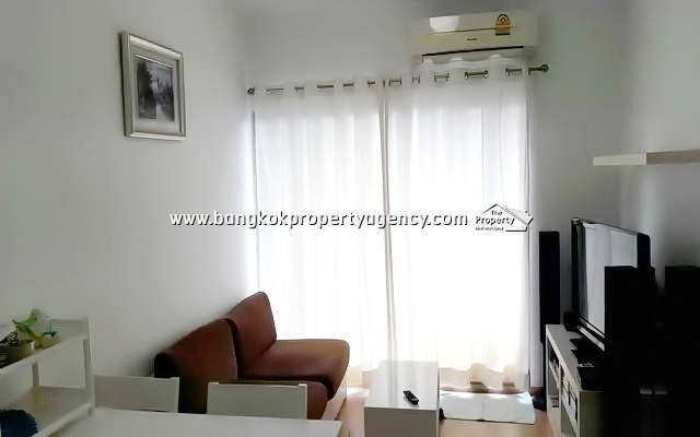 A Space Asoke-Ratchada: 2 bed 52 sqm fully furnished/pool view
