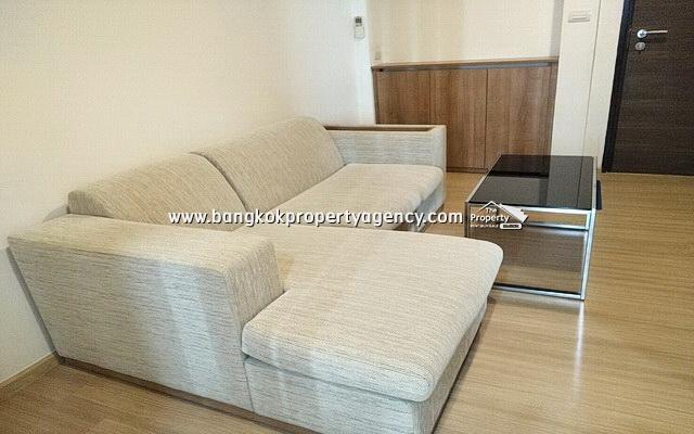 Rhythm Sukhumvit 50: 1 bed 45 sqm fully furnished mid-floor unit