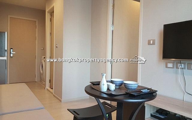 Rhythm Asoke 2: Brand new 1 bed 28 sqm fully furnished/high floor