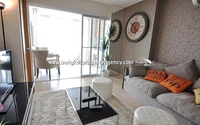 Rhythm Huai Khwang: 1 bed 46 sqm well decorated unit on high floor