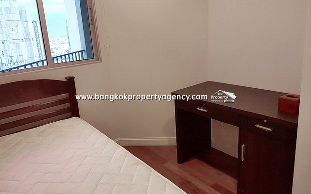 Belle Grand Rama 9: 3 bed 106 sqm fully furnished unit on high floor