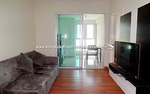 Centric Sutthisan: 1 bed 32 sqm fully furnished unit on high floor/city view