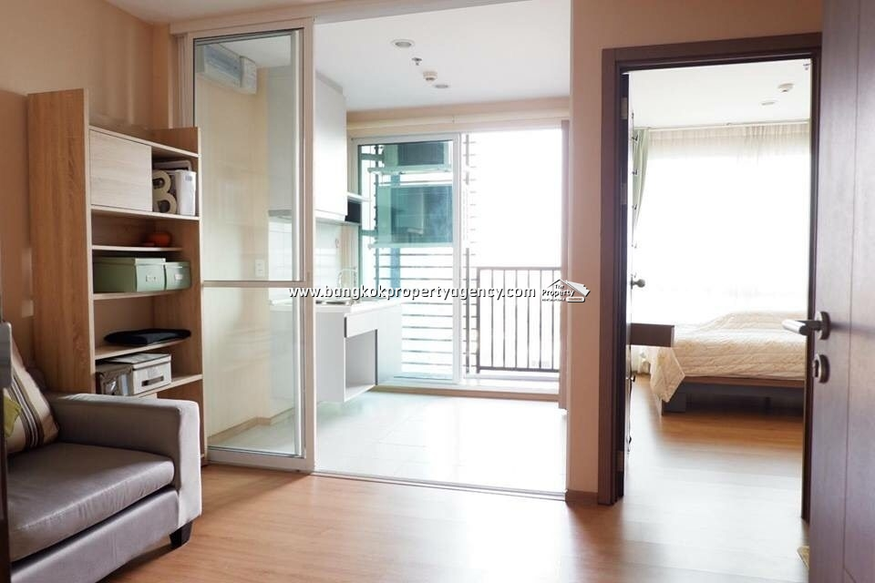 The Base Sukhumvit 77: 1 bed 30 sqm partially furnished unit