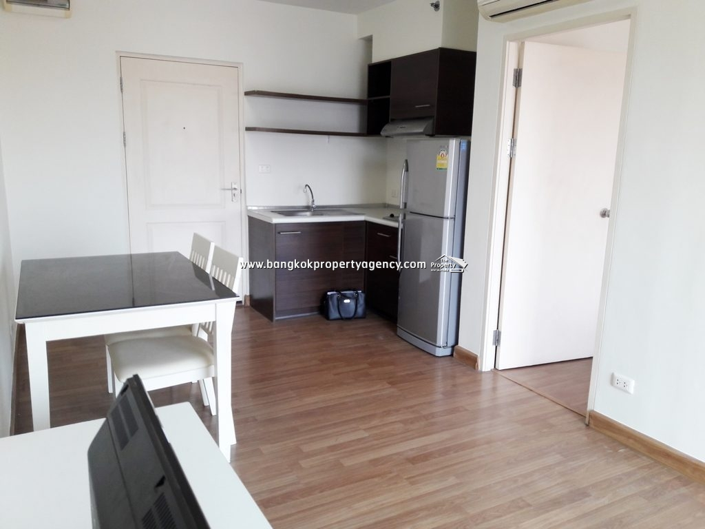 S&S Condo Sukhumvit 101/1: 1 bed 36 sqm partially furnished unit