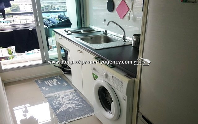 Aspire Sukhumvit 48: 1 bed 38 sqm well decorated unit/good price