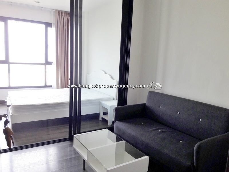 The Base Park West Sukhumvit 77: 1 bed 26 sqm top floor fully furnished