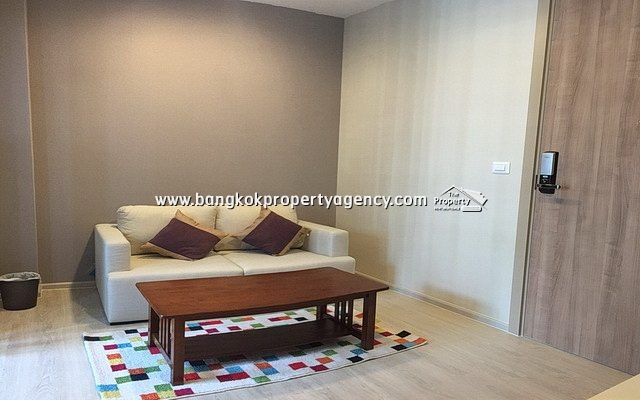 Condolette Midst Rama 9: 1 bed 29 sqm fully furnished unit/city view