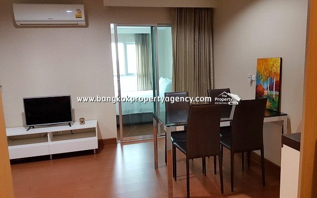 Belle Grand Rama 9: New 1 bed 47 sqm fully furnished unit/city view