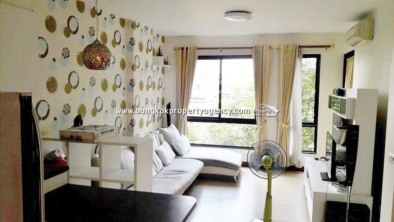 Sense Condo Sukhumvit 68: Sale 1 bed 44 sqm well decorated/unblocked view