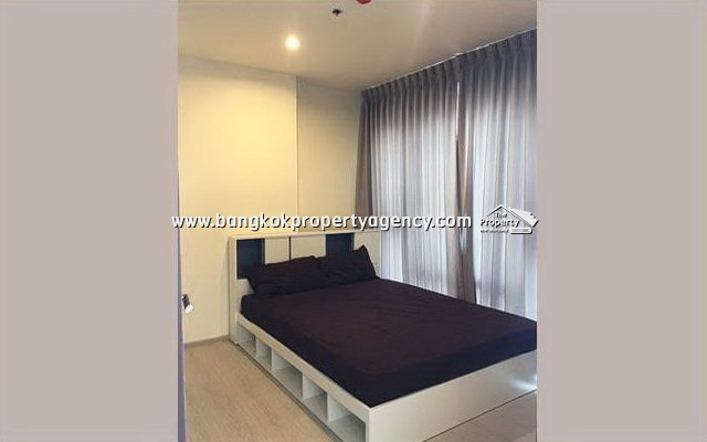 Rhythm Asoke 1: New 2 bed 42 sqm furnished corner unit on high floor