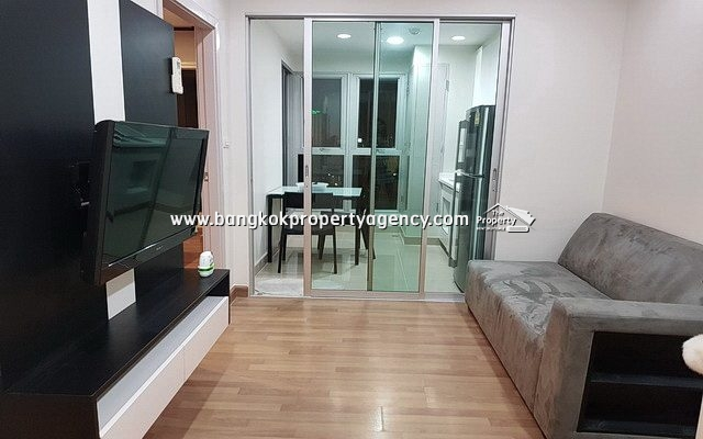 Centric Sutthisan: 1 bed 32 sqm fully furnished corner unit with city view