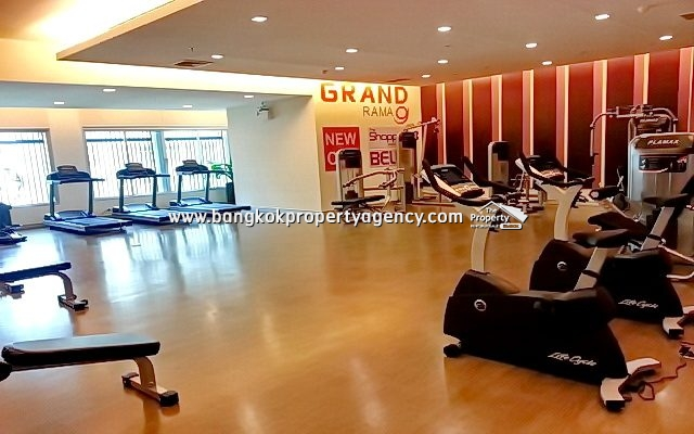 Belle Grand Rama 9: 1 bed 48 sqm fully furnished/unblocked view