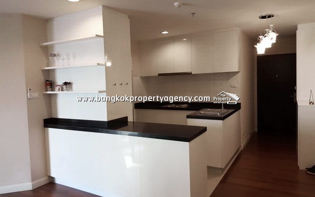 Belle Grand Rama 9: 2 bed 96 sqm fully furnished unit with pool view