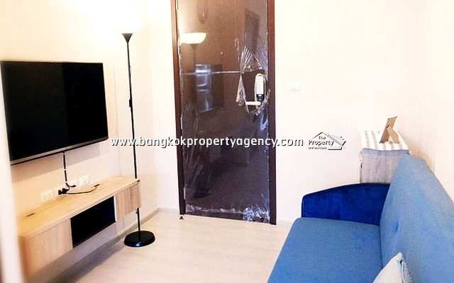 Rhythm Asoke 1: 1 bed 32 sqm fully furnished close to MRT/Airport Link