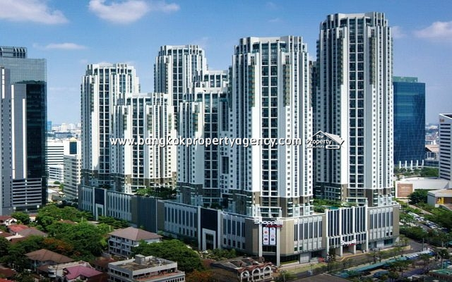 Belle Grand Rama 9: 1 bed 49 sqm fully furnished unit with city view