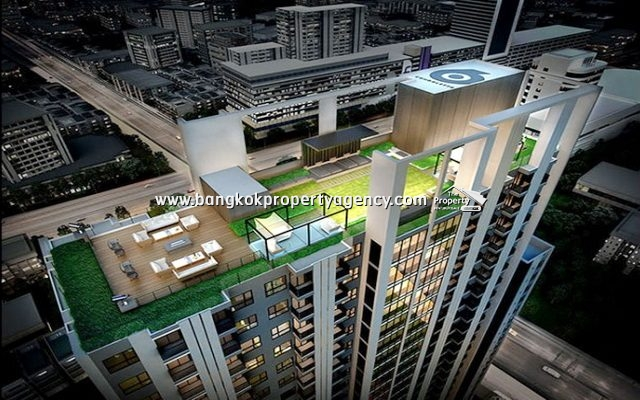 Condolette Midst Rama 9: 1 bed 28 sqm fully furnished/unblocked view