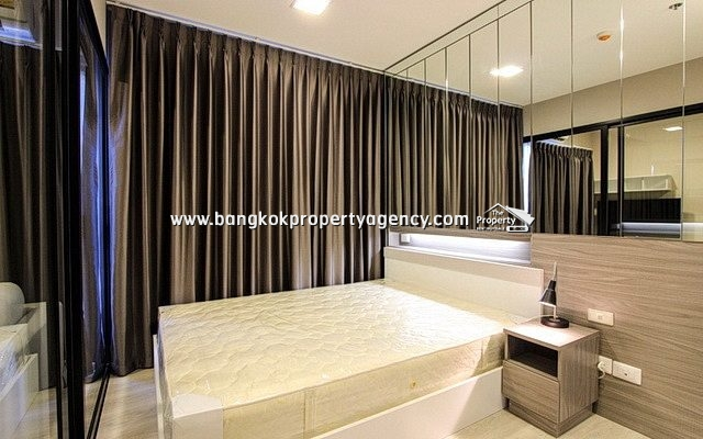 Condolette Midst Rama 9: 1 bed 28 sqm fully furnished on high floor