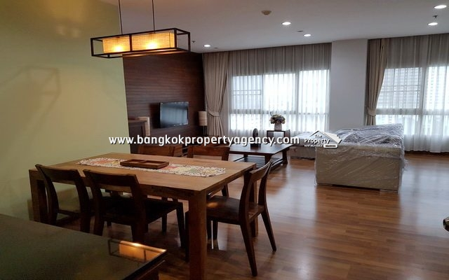 PG Rama 9: 3 Bed 99 sqm renovated unit for rent on high floor/unblocked view