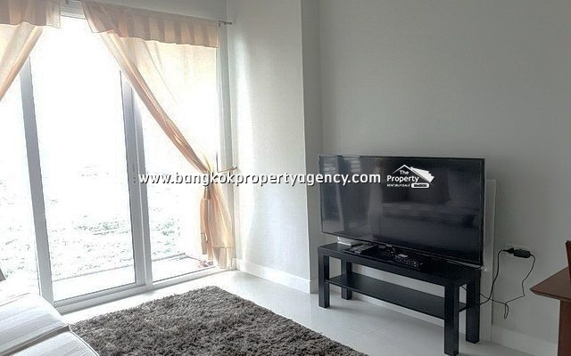 The Mark Condo Ratchada: 1 bed 38 sqm furnished unit/unblocked view