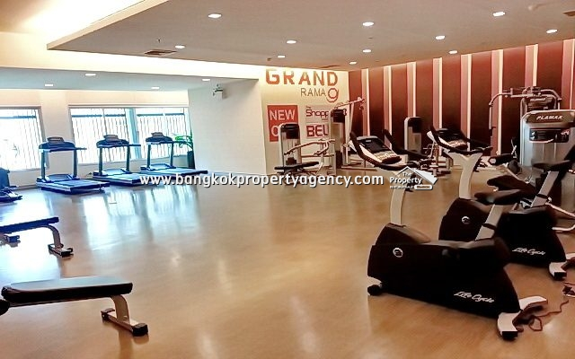 Belle Grand Rama 9: 1 bed 48 sqm furnished condo with city view